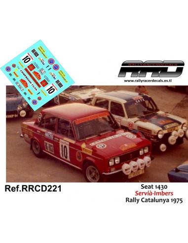 Seat 1430 Servia-Imbers Rally Catalunya 1975