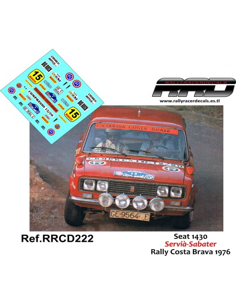 Seat 1430 Servia-Sabater Rally Costa Brava 1976