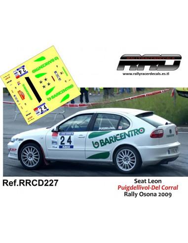 Seat Leon Puigdellivol-Del Corral Rally Osona 2009