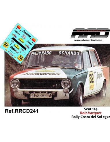 Seat 124 Roiz-Vazquez Rally Costa del Sol 1972