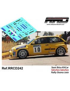 Seat Ibiza KitCar Sanchez-Sanchez Rally Osona 2001