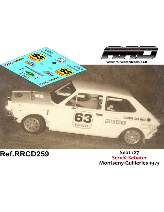 Seat 127 Servia-Sabater Criterium Montseny Guilleries 1973