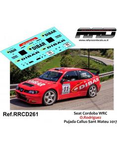 Seat Cordoba WRC O Rodriguez Pujada Callus-Sant Mateu 2017