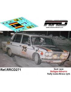 Seat 1430 Bohigas-Navarro Rally Costa Brava 1976