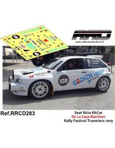 Seat Ibiza KitCar De La Casa-Martinez Rally Festival Trasmiera 2019