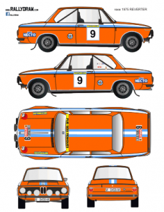 BMW 2002 Reverter Race 1975
