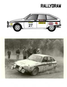 Citroen GS Rizos Race 1975