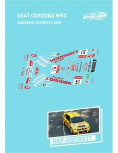 Seat Cordoba WRC Sanremo Verredyt 2000