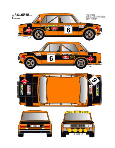 Seat 1430-124 Cañellas Race 1976