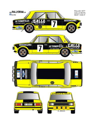 Seat 1430-124 Gallo Fallas 1977