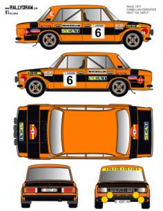 Seat 1430-124 Cañellas Race 1977