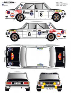 Seat 1430-124 Servia Race 1977