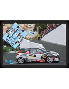 Citroën DS3 R3 Emma Falcón & Rogelio Peñate Rallye Cordoba 2017.