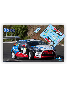 Citroën DS3 Emma Falcón & Rogelio Peñate Rallye Ferrol 2016.
