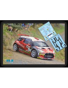 Citroën DS3 Emma Falcón & Rogelio Peñate Rallye Islas Canarias 2016.