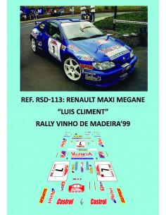 Renault Maxi Megane Climent Madeira 1999