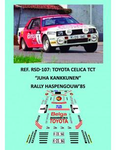 Toyota Celica TCT Juha Kankkunen