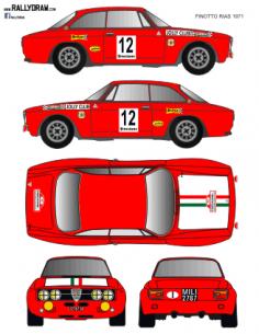 Alfa Romeo GTA Finotto Rias Bajas 1971