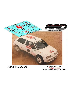 Citroen AX Proto Roig-Sabater Rally Artesa de Segre 1998