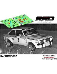 Ford Escort MK2 Alonso-Varela Rally Catalunya 1978