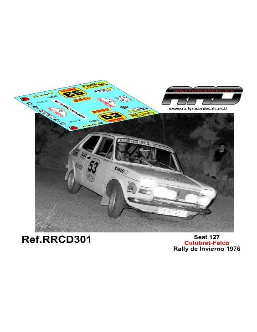 Seat 127 Culubret-Falco Rally de Invierno 1976