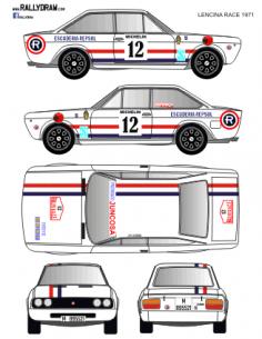 Seat 124 sport Lencina Race 1971