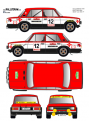 Seat 124 Bayo Guilleries 1979