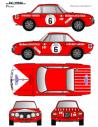Lancia Fulvia Pregliasco Costa Brava 1974