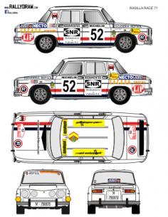 Renault 8 Rasilla Race 1971