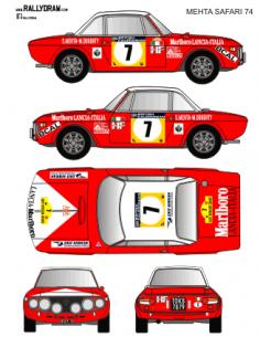 Lancia Fulvia Mehta Safari 1974