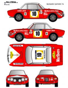 Lancia Fulvia Munari Safari 1974