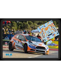 Ford Fiesta R5 Daniel Marbán & Victor Ferrero Rallye Comunidad de Madrid 2018