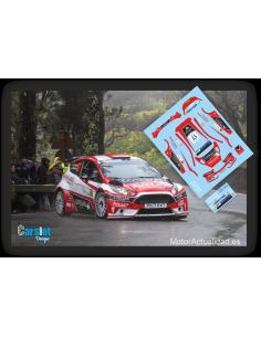 Ford Fiesta R5 Luis Monzón & Jose Carlos Déniz Rally Islas Canarias 2018