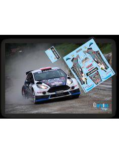 Ford Fiesta R5 Surhayen Pernia & Carlos del Barrio Rallye Santander 2016.