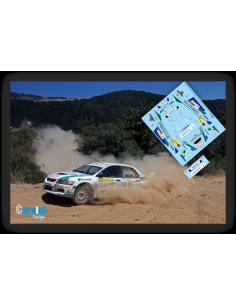 Mitsubishi Evo IV José Luis Peláez & Diego Sanjuan Rallye El Bierzo 2015