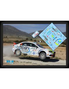 Mitsubishi Evo X Alberto Monarri & Rodrigo Sanjuan Rallye Lorca 2015.