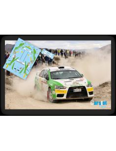 Mitsubishi Evo X Edgar Vigo & Fatima Ameneiro Rallye Malaga 2016