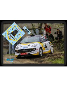Opel Adam R2 Esteban Vallin & Borja Odriozola Rallye Ferrol 2016.