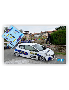 Peugeot 208 R2 Javier Pardo & Alba Sanchez Rallye Llanes 2016.