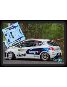 Peugeot 208 R2 Roberto Blach & Ariday Bonilla Rallye Ferrol 2016
