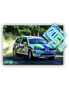 Renault Clio Daniel Sordo & Marc Marti Rallye Tempere Pirelli 2004