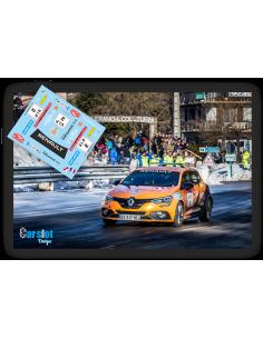 Renault Megane RS Carlos Sainz Jr & Rodrigo Sanjuan Rallye Montecarlo 2018