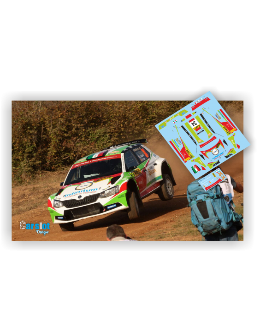 Skoda R5 Benito Guerra & Daniel Cue Rallye Cataluña 2017.