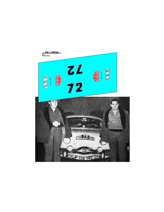 Panhard Dyna z Reverter Montecarlo 1958