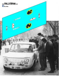 Simca 1000 Reverter Costa del Sol 1967