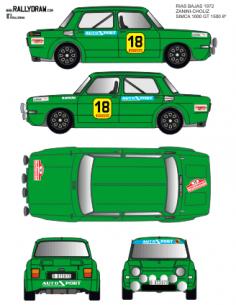 Simca 1000 Zanini rias Bajas 1972