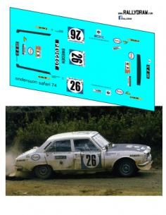 Peugeot 504 Andersson Safari 1975