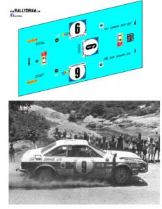 Lancia Beta Ulyate Safari 1975