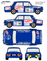 Seat 124 Chano Ourense 1982
