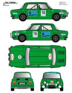 Simca 1000 Zanini Baviera 1971
